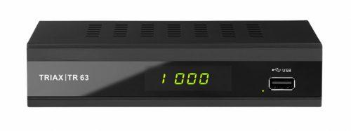 Triax TR 63 DVB-C és DVB-T/T2 vevő