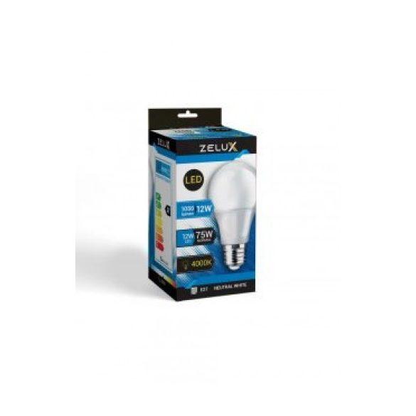 ZELUX A60 12W E27 LED lámpa 4000K