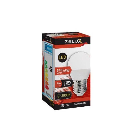 ZELUX G45 6W E27 LED lámpa 4000K