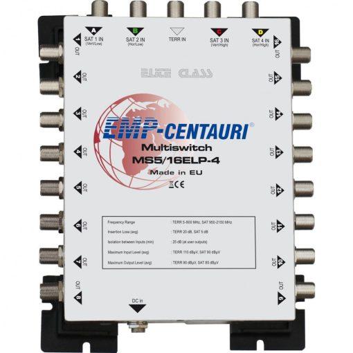 EMP Centauri E-Lite Class Multischalter MS 5/16 ELP-4 Stromlos