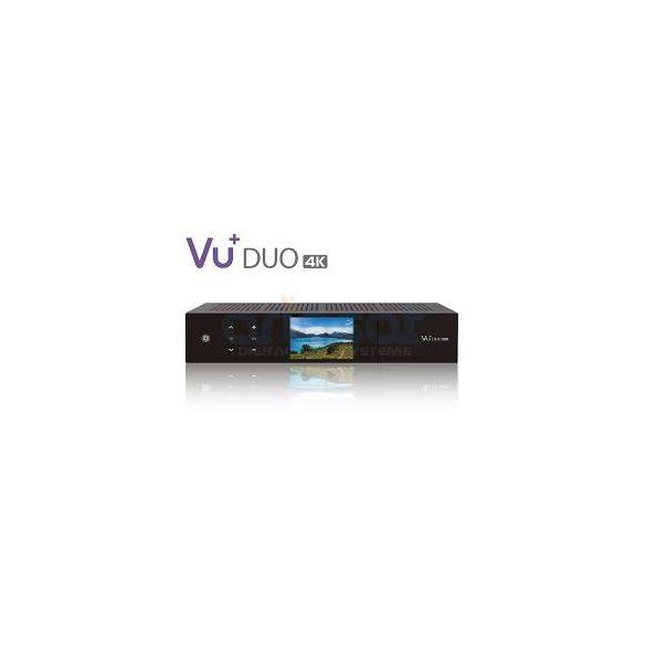 VU+ Duo 4K 2x FBC Dual S2x tuner műholdvevő