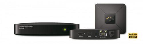 Golden Interstar Beta X HD IPTV box
